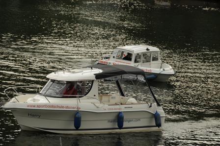 Boote für die Praxiausbildung Sportbootführerschein See